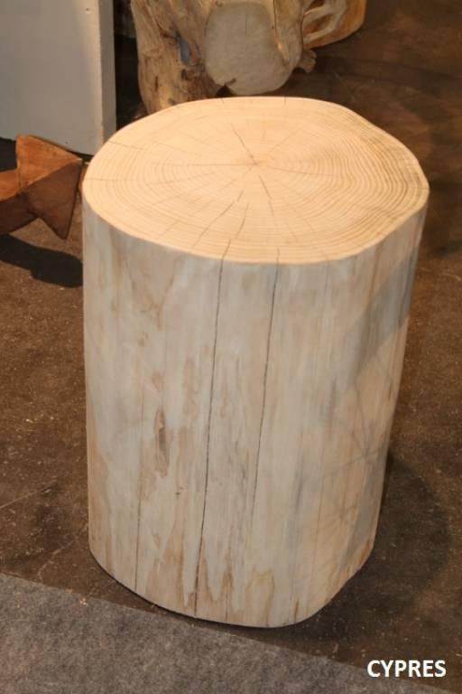 Very Wood / MOBILIER / Tables basses / Plot rondin bois